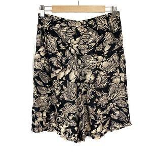 First Option Vintage Floral Loose Shorts